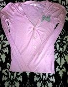 Śliczny różowy sweterek