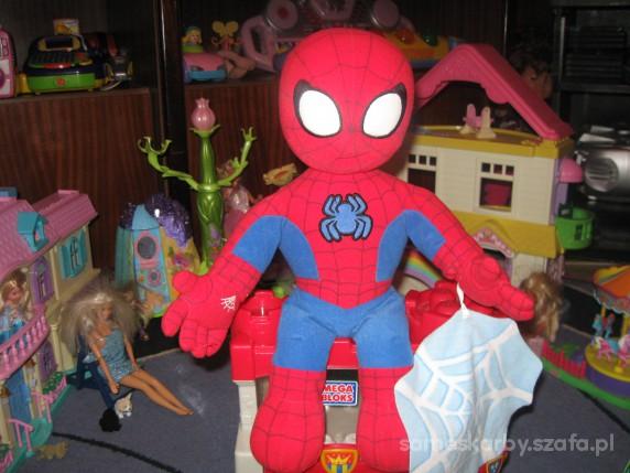 Zabawki ORYGINALNY INTERAKTYWNY SPIDERMAN