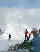 snowboard...