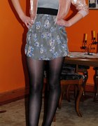 sukienka floral kurteczka w cekiny