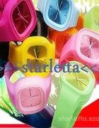 zegarki jelly real foto od reki tanio bialy