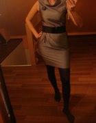 Szara sukieneczka