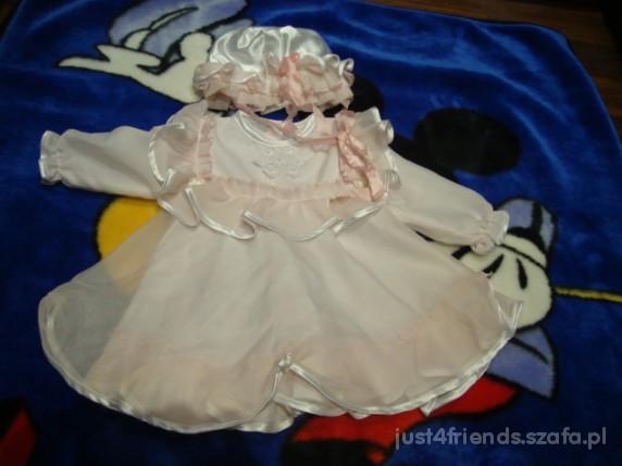 Komplety piękna sukienka dla małej księżniczki na 92cm