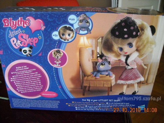 Zabawki LITTLEST PET SHOP LALECZKA Z PAJACZKIEM