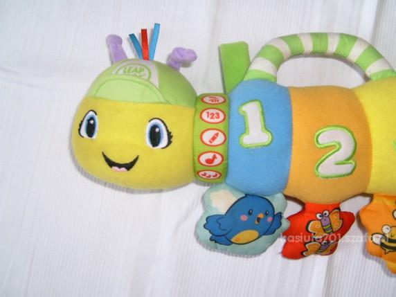 Zabawki Świetna gąsienica LEAP FROG dla maluszka