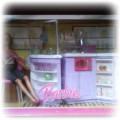 NOWOŚĆ Barbie mebelki kuchnia plus LALKA