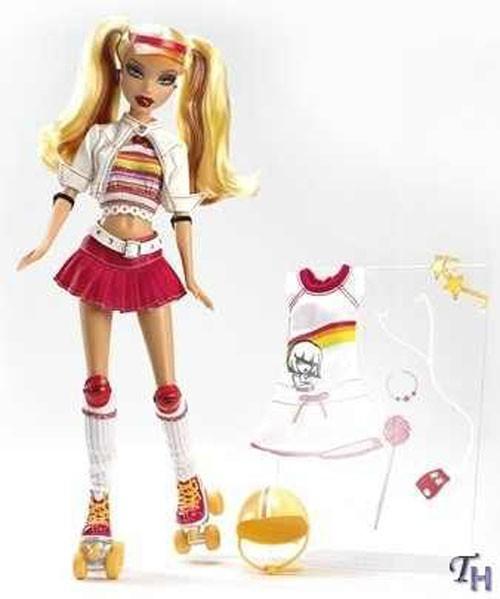 Zabawki Mattel Barbie My Scene Na Wrotkach Kennedy K8259