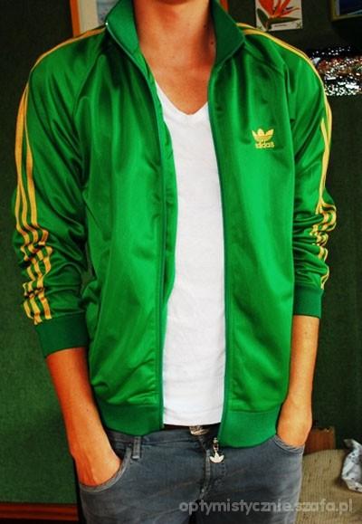 adidas originals bluza damska zielona