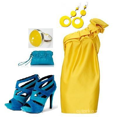 Imprezowe żółto
