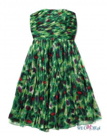 Suknie i sukienki PILNIE POSZUKUJĘ zielona sukienka reserved