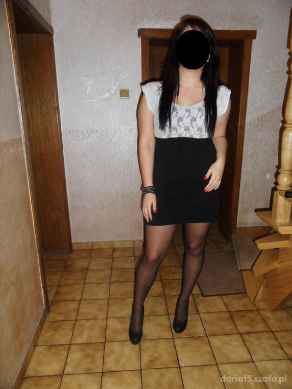 Mój styl moja nowa sukienka gotowa do wyjścia