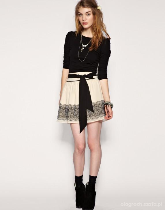 Eleganckie Uroczy zestaw szukam takiej spódniczki