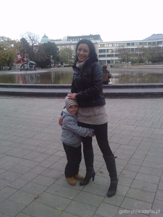 Mój styl spacerek z moim synkiem Kubusiem