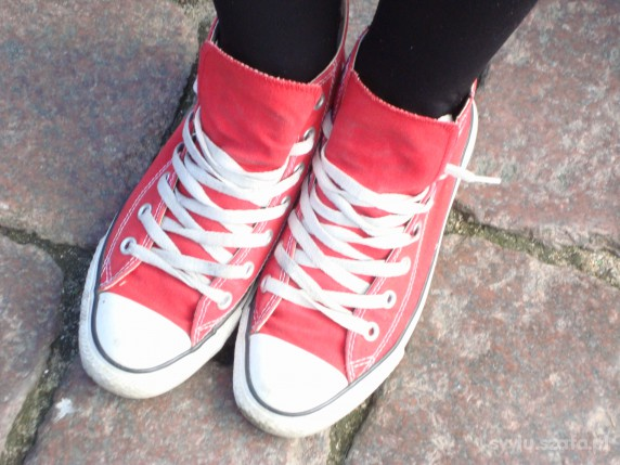 Converse czerwone 38...