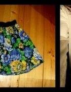 Spódniczka floral roboty własnej