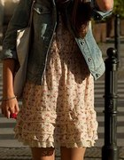 przewiewna sukienka