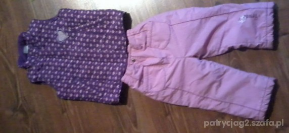 Komplety Spodnie i kamizelka na 104 cm