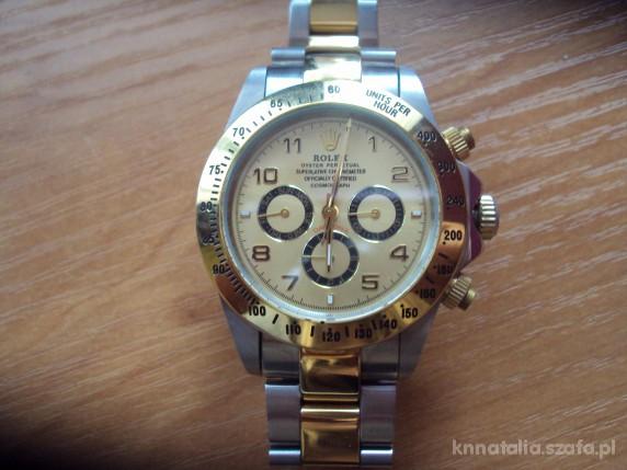 62c62061e07176 ROLEX piękny złoty zegarek męski w Zegarki - Szafa.pl