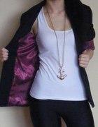 blazer new look aramantowa podszewka