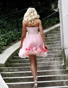 Sherri Hill rozowa roze mmm cudo