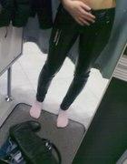 Skorzane spodnie TERRANOVA