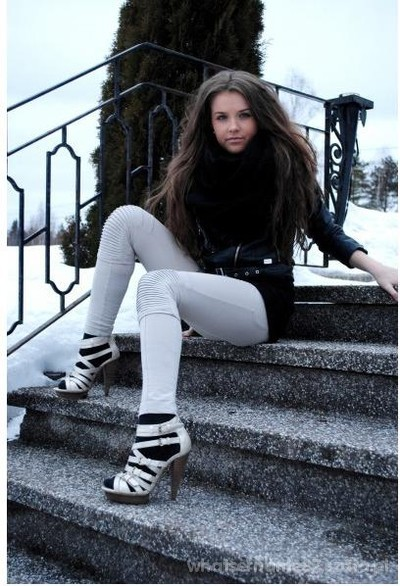 sandały zimą
