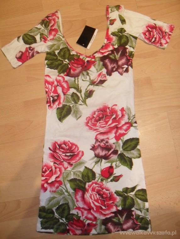 Mini sukienka FLORAL Atmosphere