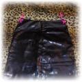 Lateksowa spódnica