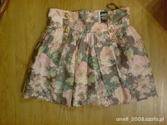 Spódnice Spodniczka floral 38 40