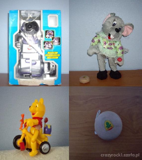 Zabawki Zestaw 4 zabawek