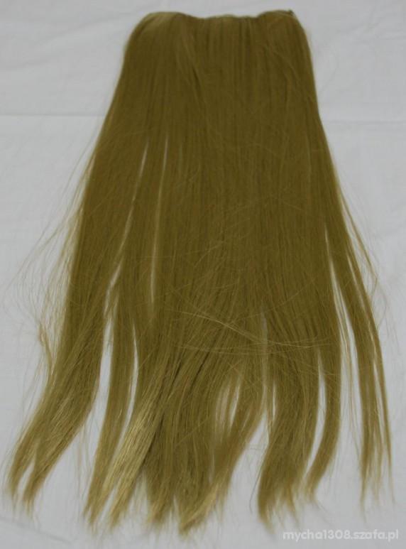 Pozostałe treska clip in jasny blond