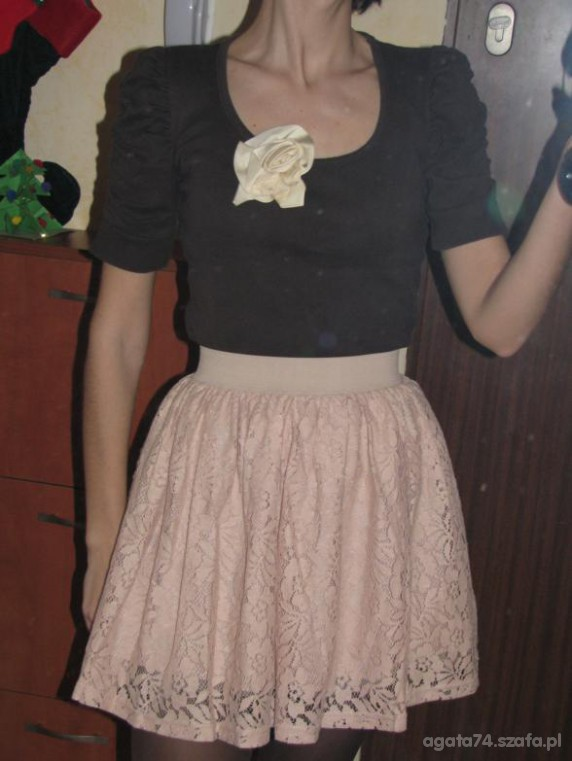 Mój styl pudrowy roz z brazem cz2