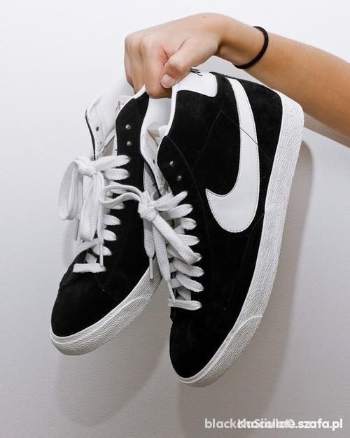 newest 9e3d5 0b944 czarne trampki Nike