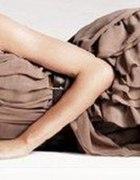 pudrowa sukienka HM anja rubik