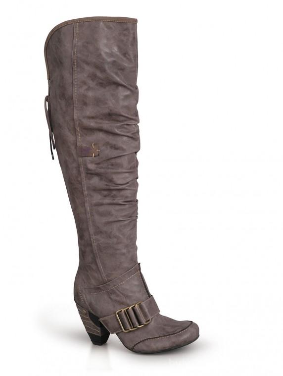 2eaaa4447f8deb Wyprzedaż Kozaki damskie MUSTANG shoes 27C028 w Kozaki - Szafa.pl