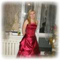Długa wieczorowa suknia