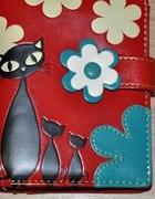 mój portfel z kotkami
