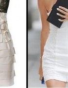 inspiracje white and nude pastelowe mini sukienki...