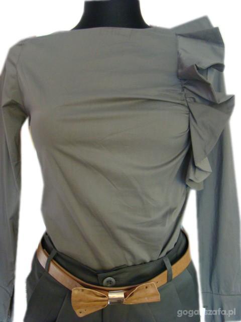 koszula z falbaną L