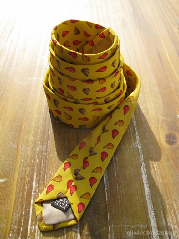 Pozostałe żółty krawat