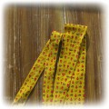 żółty krawat