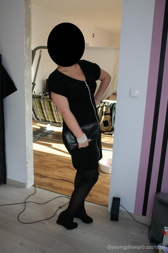 Eleganckie czarna