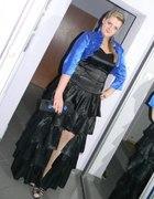 Moja jedna ze studniówkowych sukienek...