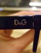 Oryginalne czarne okulary DandG