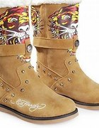 ED HARDy shoes...