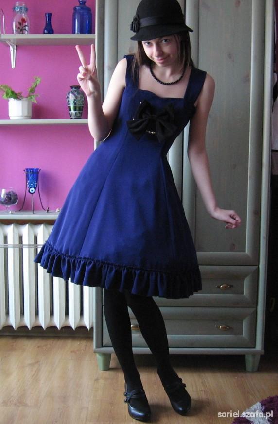 Vintage setka and handmade dress