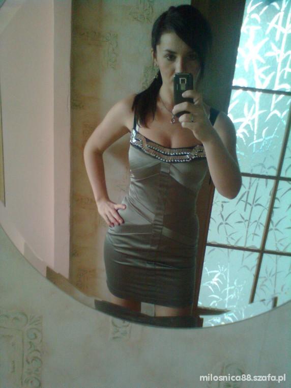Eleganckie moja nowa sukienka