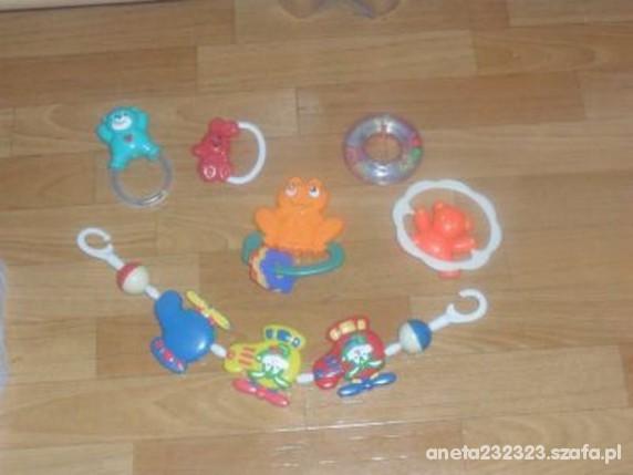 Zabawki Zestaw grzechotek