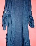 Narzutkadługi sweterek ANN HARVEY duży rozmiar 54