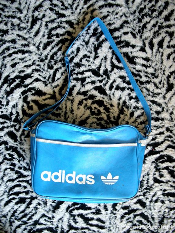 5d010e55f990 duża niebieska torba adidas oldschool w Torebki na co dzień - Szafa.pl